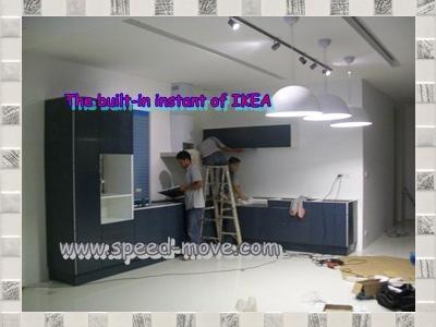 Install IKEA built-in furniture