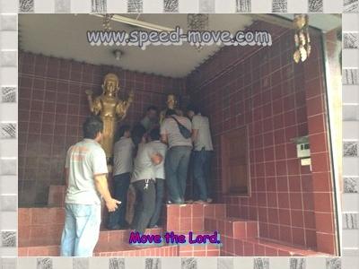 Moving of the Buddha Image